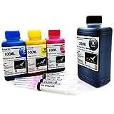 Office Channel24 550ml Nachfülltinte Drucker Tinte kompatible für HP301 HP301XL Deskjet 1010 1510 HP Officejet 4636 2622 4630 4632 5530 e-All-in-One Officejet 2620