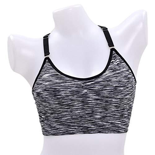 QINJLI sportondergoed, vest sling camouflage sporten lopen beha yoga slaap ondergoed Medium A