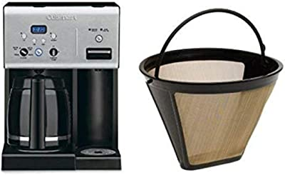 Cuisinart Coffee Plus CHW-12 Coffeemaker and Filter Bundle