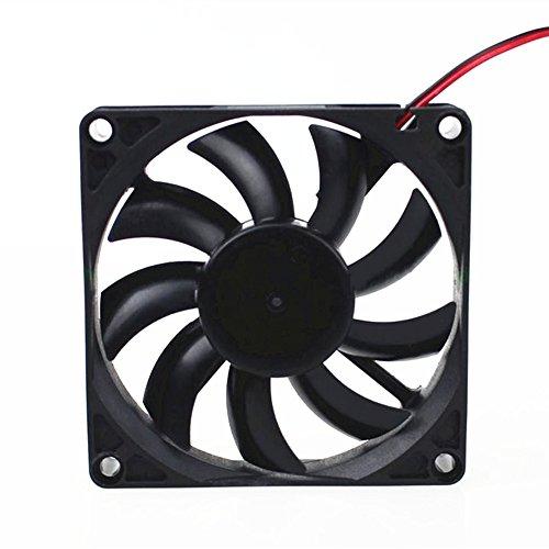 80 mm x 80 mm x 15 mm 8015 12 V 0,18 A sin escobillas DC ventilador