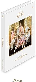 JYP Entertainment Twice - Feel Special [A ver.] (8th Mini Album) CD+88p Photobook+Lyrics Paper+5Photocards+Gold Photocard+Double Side Extra Photocards Set
