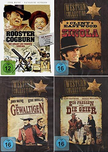 Western Collection | Sinola + Ein Fressen für die Geier + Mit Dynamit und frommen Sprüchen + Die Gewaltigen (4-DVD)