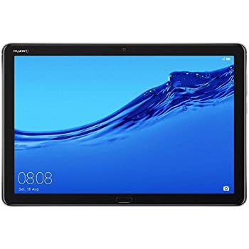 Huawei MediaPad M5 lite - 10.1 inch - WiFi Only - 3GB+32GB Quad Harman Kardon-Tuned Speakers- Space Gray International Version No Warranty
