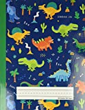 Dinosaur Era - Primary Story Journal: Dotted Midline and Picture Space | Grades K-2 School...