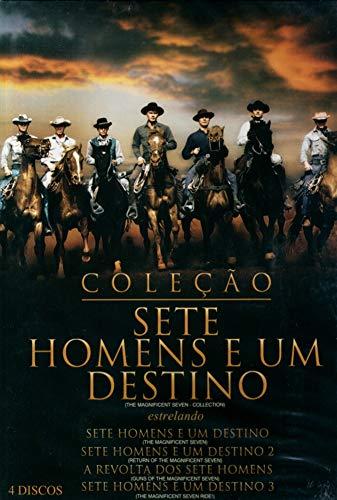 DVD Coleção Sete Homens e um Destino