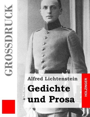 Gedichte und Prosa (Großdruck)