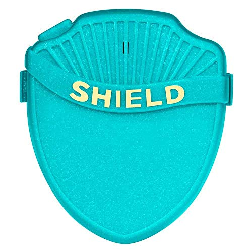 Shield Max Bedwetting Enuresis Alarm for Boys and Girls with 8 Loud Loud Tones, Light and Vibration. Full Featured Bedwetting Alarm for Deep Sleepers to Stop Nighttime Bedwetting, Teal