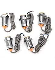 金属誘導スイッチ、5個金属誘導スイッチ近接リミットセンサーNPN 3‑WireノーマルオープンLJ30A3‑10‑Z/BX