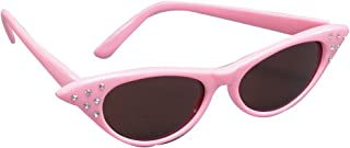 50's Pink Sunglasses With Dark Lens