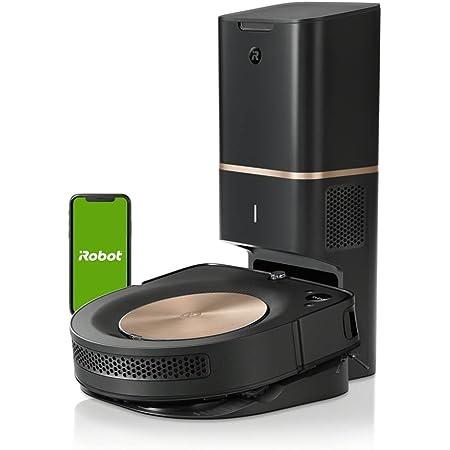 ルンバ s9+ ロボット掃除機 アイロボット 自動ゴミ収集 アレルゲン99%捕捉 パワフルな吸引力 隅や角まで ブラック S955860 Alexa対応