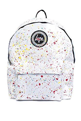 HYPE - Bolso mochila de Material Sintético para mujer Blanco White/Primary Talla única