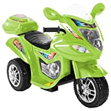 Lil' Rider Electric Motorcycle for Kids – 3-Wheel Trike - Battery Powered...