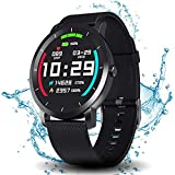 DoSmarter Fitness Tracker Watch with Heart Rate and Blood Pressure Monitor for...
