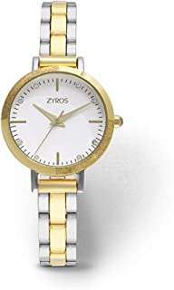 Zyros Dress Watch for Women, Quartz, ZAA071L060611