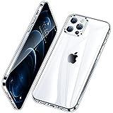 Vakoo Crystal Clear Handyhülle für iPhone 12 Pro Max Hülle Silikon Transparent Dünn Kratzfest Schutzhülle für iPhone 12 Pro Max Hülle, Durchsichtig