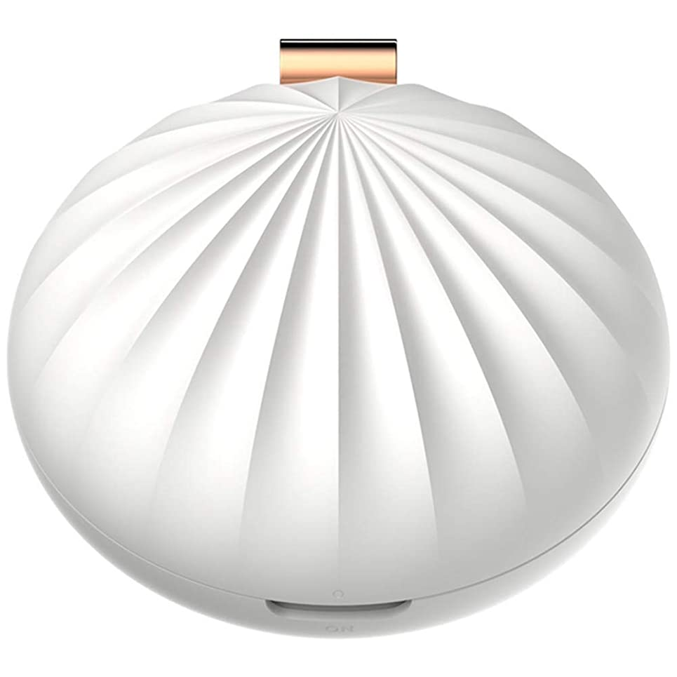適切な平和的カバーNenon&wenom アロマディフューザー おしゃれ ディフューザー アロマオイル 携帯 便利 コンパクト アロマ香り 癒し 卓上 部屋(ホワイト)