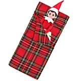 Miunana Doll Sleeping Bag Accessory Fit for Elf on the Shelf and 11.5 Inch Doll (Not Include Doll)