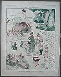 Art Deco - Carnet de Vacances - Pierre Lissac - La Vie Parisienne - 1928, Paris - Photo Engraving - 26,5x34 cm. - Original Print