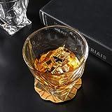 KANARS Whiskey Gläser Set, Bleifrei Kristallgläser, Whisky Glas, Schöne Geschenk Box, 4-teiliges, 300ml, Hochwertig - 9