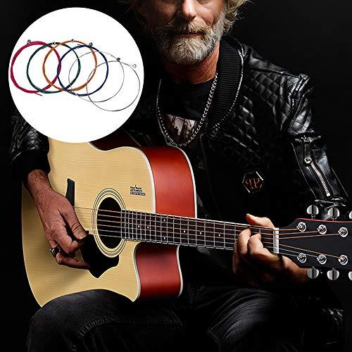 Kit de cambio de cuerdas de guitarra, cuerdas de guitarra acústica 2 sets, enrollador y cortador de cuerdas de guitarra, puente pin puller 3 en 1 herramienta multifunción