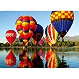 Toreta 1000 Piece Puzzles for Adults,Hot Air Balloon Jigsaw Puzzles 1000 Pieces,Beautiful Puzzles for Adults 1000 Piece,Puzzle Games 1000 Piece Puzzle Arts and Crafts for Home Wall Decor 20x30 Inch