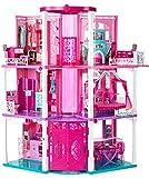 Mattel - Casa dei Sogni di Barbie Luci e Suoni con 3 bambole incluse [Nuova Versione2014]