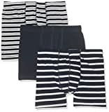 NAME IT Jungen NKMTIGHTS 3P Dress Blues NOOS Boxershorts, Mehrfarbig (Dark Sapphire), 146 (Herstellergröße: 146-152) (3er Pack)