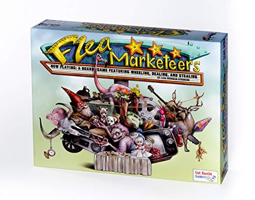 GUT Flea Marketeers Board Game by Bustin' Games