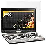 atFolix Panzerfolie kompatibel mit Fujitsu Lifebook T902 Schutzfolie, entspiegelnde & stoßdämpfende FX Folie (2X)