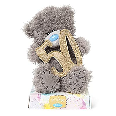 Me To You AP701075 50th Birthday Tatty Teddy by Carte Blanche Greetings Ltd
