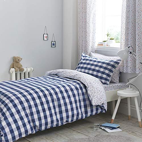 8ffab12523aa6 Bianca Duvet Set, Cotton, Blue, Double