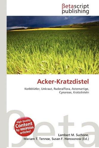 Acker-Kratzdistel