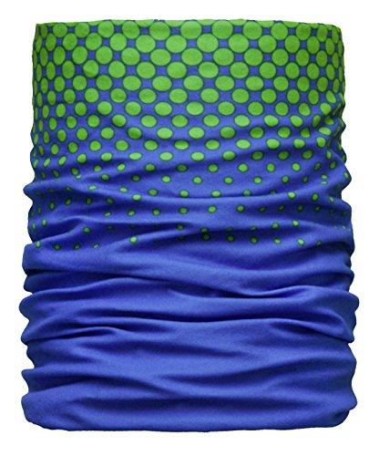 Areco Erwachsene Soft Touch'18 Schal, Blau-Grün, One Size