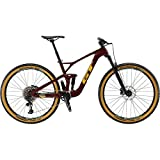 GT 2019 - Bicicleta de montaña con sensor M (29'), color rojo
