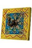 Vintage Garderobe Kleiderhaken Istari 2 Klein 10cm groß 1er Haken   Hakenleiste Wandhaken für die Wand oder Tür   Kleiderhakenleiste Garderobenhaken aus Holz   handtuchhaken im Bad oder...