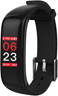 YYL@ZNSH Pulsera Actividad,relojes inteligentes Bluetooth 4.0 a prueba de agua, podómetro para niños, mujeres y hombres Pulsómetro/B