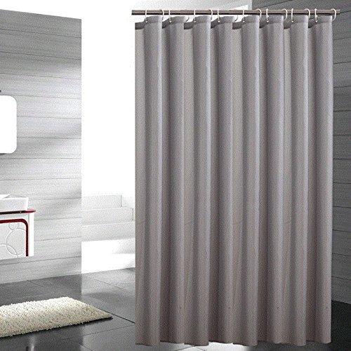 GAOJIAN 2017 Épaisseur de polyester Douche imperméable à l'eau Cloison de douche New Grey Resin coloré Polyester Tissu Rideau de douche , 220*200 high