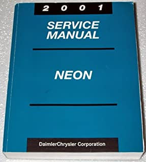 2001 Dodge, Chrysler, Plymouth Neon Service Manual (Complete Volume)