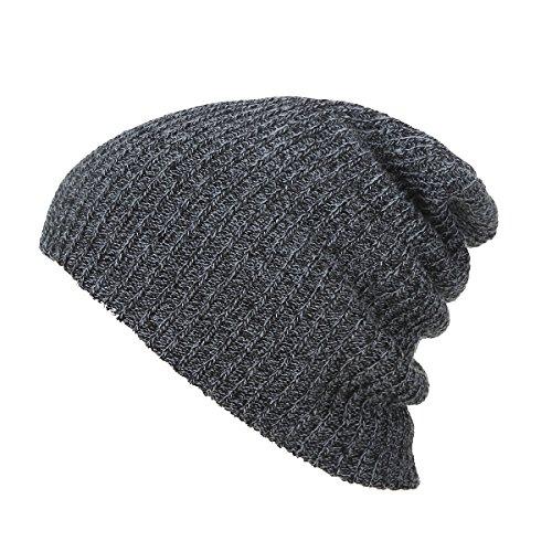 Knuffel Unisex Winter Zachte Knit Slouchy Mode Schedel Beanie Hoed