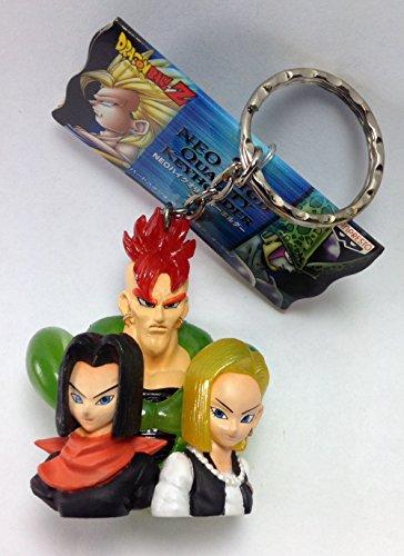 Android Trio - Dragonball Z 2 Diorama NEO Figure Mascot Keychain