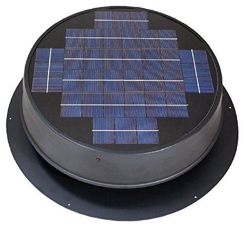 Ultra Low-Profile Solar Attic Fan