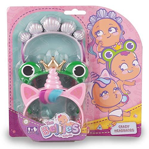 The Bellies - Crazy Headbans,Diademas Divertidas Bellies, Accesorios muñecas para niñas y niños a Partir de 3 años(Famosa 700016223)