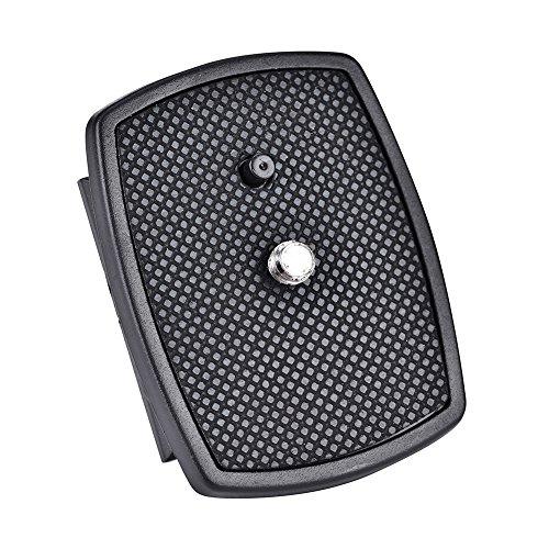 awstroe Abrazadera de Placa de Liberación Rápida Adaptador de Abrazadera de Placa de Liberación Rápida Abrazadera Ajustable de Cámara para Cámara Digital DSLR SLR