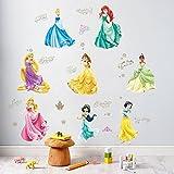 ufengke Dibujos Animados Princesa Blanca De La Nieve Calcomanías De Pared, Vivero Habitación de los Niños Removible Etiquetas de la Pared Murales