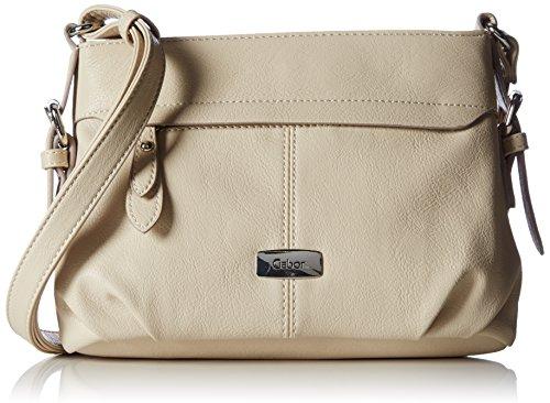 Gabor Umhängetasche Damen Lisa, 26x17x10 cm, Weiß (offwhite ), Gabor Handtasche Damen