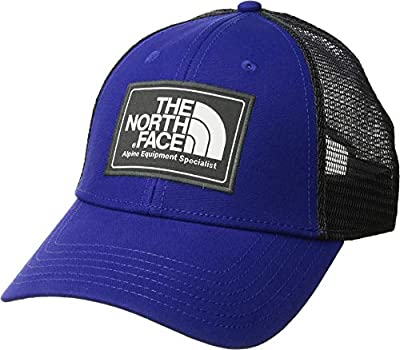 The North Face Mudder Trucker Hat, Aztec Blue/TNF White, Size OS