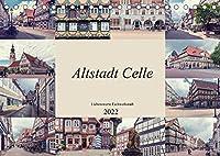 Altstadt Celle (Tischkalender 2022 DIN A5 quer): Die Stadt Celle liegt an der Aller, ein Nebenfluss der Weser. Dies Stadt liegt unweit von Hannover und Braunschweig. (Monatskalender, 14 Seiten )