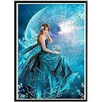 写真モザイク・ムーン美容手作り5D DIYラインストーンクリスタルダイヤモンドは、クロスステッチ刺繍絵画 SSHZJUS (Color : 2, Size : 30X40cm)
