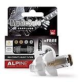 Alpine MusicSafe Tapones para los oídos para músicos - Mejora tu experiencia musical con...