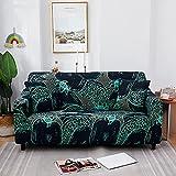 WXQY Funda de sofá con impresión para Sala de Estar, Funda de sofá elástica Antideslizante, Funda de sofá Bien Envuelta Funda de sofá A2 4 plazas